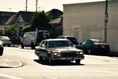 Amazing american car in Los Angeles - this blog post has awesome impressions of L.A.!