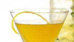 Gin-Honig-Cocktail mit grünem Tee