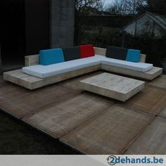 Design loungeset 'cuba' in accoya