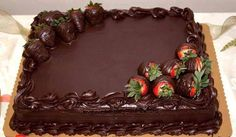 Yummm chocolate cake :D