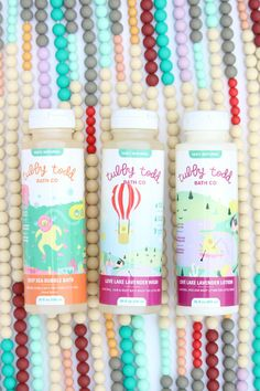 Tubby Todd Bath Co. | Our favorite all-natural baby wash, bubble bath, and lotion.