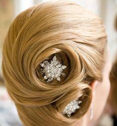 Dainty Bridal Hair Style Ideas 2014-2015