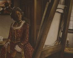 Art. Elizabeth Colomba Draws Upon Western History and Black Womanhood.