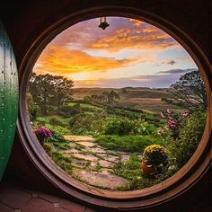 The Hobbiton New Zealand  Via @awesome.pix Follow @awesome.pix for more Photo by @shaun_jeffers by golden_heart