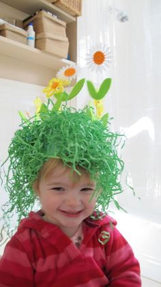 Is your child's school or nursery having an Easter Bonnet parade? Stuck for inspiration? There are loads of great ideas over at The Organised Housewife, including this gorgeously scruffy spring meadow!