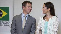 Kronprins Frederik til brasiliansk fest på kronprinsesse Marys fødselsdag | BILLED-BLADET