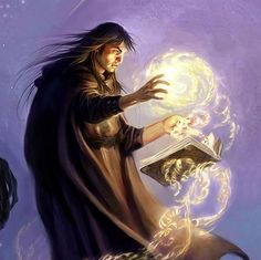 The male witch by Todd Lockwood #witch #wizard #sorcerer