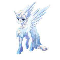 "Elsa Pony. (Commission) by Zedrin.deviantart.com on @deviantART ""Whoa Elsa, you look... Different. It's a good different!"""