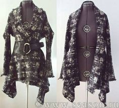 Lagenlook Sewing Patterns | Easy to sew jacket with cutting/sewing diagram. | sewing projects