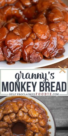 Recipes Easy Granny's Monkey Bread is a sweet, gooey, sinful cinnamon sugar treat that will be loved by young and old alike. Be careful, its dangerously addictive. Brunch Recipes, New Recipes, Sweet Recipes, Favorite Recipes, Simple Apple Recipes, Beginner Recipes, Canadian Recipes, Recipies, English Recipes