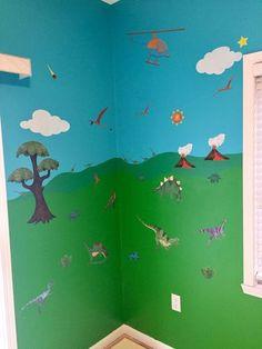Dinosaur Wall Sticker Decal Kit JUMBO SET Pinterest Wall