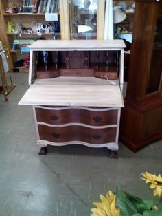 This is and old secretary desk. Spent a lot of hours on this, but it was worth it. Price $199.00