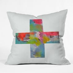Natalie Baca Plus One Throw Pillow   DENY Designs Home Accessories