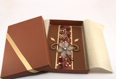 Autumn Floral Card Thanksgiving Card Brown Quilling Card for   Etsy