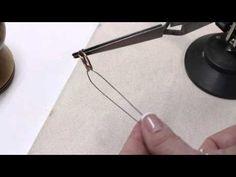 Kumihimo Beaded Braids - Preparing Warp Cords