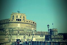 The Castle St. Angelo in Rome