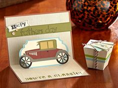 Father's Day card made with the CTMH Cricut® Artfully Sent cartridge