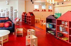 Colourful Preschool Rainbow Classroom Decor, Image Source decoration0.com