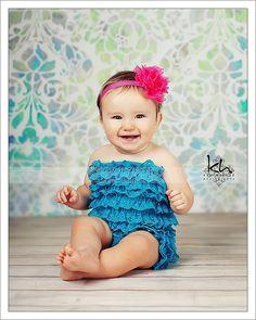 468bc2c89f45 Turquoise lace petti romper - Blue aqua lace romper - 1st birthday outfit Petti  Romper