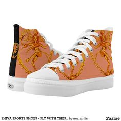 SHIVA SPORTS SHOES - FLY WITH THESE! PRINTED SHOES