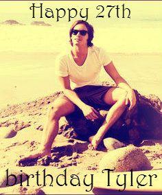 Happy 27th Birthday Tyler Blackburn