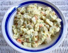Green Fig (Banana) Salad | Simply Trini Cooking