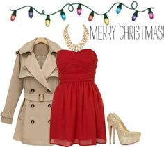 """""""Formal Christmas Outfit"""" by naayeli-delatorre ❤ liked on Polyvore"""