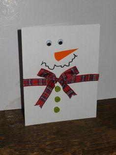 Easy snowman card!