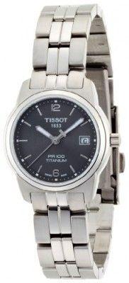 ce559e08ecb Relógio Tissot Women s T049.310.44.067.00 Black Dial PR100 Watch  Relogios   Tissot