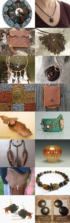 Beautiful Browns by Nancy and Bruce on Etsy--Pinned with TreasuryPin.com