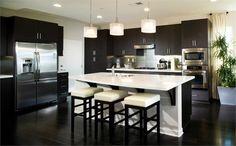 Elegant Contemporary Kitchen by Alexis Lane on HomePortfolio