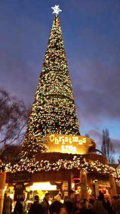 Christmas at Winter Wonderland, Hyde Park, London, England