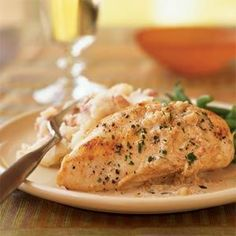 Chicken with Sherry Vinegar Sauce - Sherry vinegar lends sautéed ...