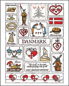 Danmark ltd. edition print by Jana Johnson Schnoor