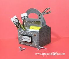 how to make a paper tool box