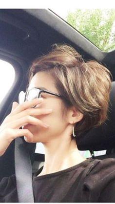 お気に入り Very Short Hair, Short Hair Cuts, Short Hair Styles, New Hair Do, Love Hair, Pixie Hairstyles, Pixie Haircut, Hair Arrange, Hair Dos