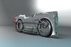 sGlss motorcycle concept - by Mikhail Smalyanov | www.solifdesign.blogspot.com