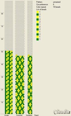 6 around bead crochet rope pattern Spiral Crochet Pattern, Crochet Bracelet Pattern, Crochet Beaded Bracelets, Bead Crochet Patterns, Bead Crochet Rope, Beaded Bracelet Patterns, Beading Patterns, Beading Tutorials, Beaded Crochet