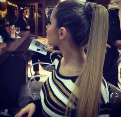 Hair Romance - Hair tutorial - how to rope twist braid This is pretty half-up twisted back hair beautiful hair-styles ponytail Sleek Hairstyles, Ponytail Hairstyles, Pretty Hairstyles, Straight Hairstyles, Hair Ponytail, Straight Ponytail, Sleek Ponytail, Love Hair, Gorgeous Hair