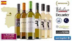 15% Rabatt ~ Bodega Javier Sanz Weißwein-Probierpaket - http://weinblog.belvini.de/javier-sanz-probierpaket