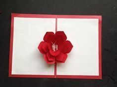 How to make 3d flower pop up card diy greeting card youtube how to make 3d flower pop up card diy greeting card youtube pinterest 3d mightylinksfo