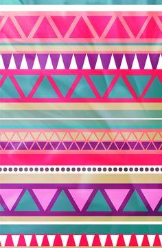 LArge gallery $35 Aztec Pattern Art Print