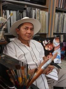 Aboga por sus murales Ernesto Ríos pide que dos de sus piezas, que se verán afectadas por obra pública, sean reinstaladas en lugares visible...