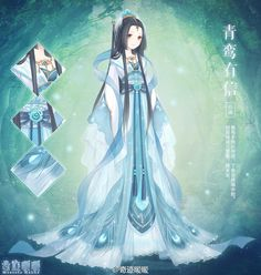 Another New Chinese Hanfu Style for Nikki!                                                                                                                                                                                 Más