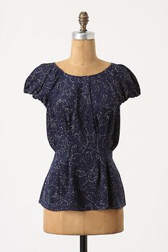 Trace The Stars Blouse #anthropologie maeve
