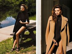 Miranda Kerr Shot by Alasdair McLellan for 'British Vogue'