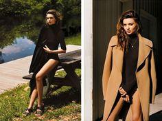Miranda Kerr Shot by Alasdair McLellan for 'British Vogue'