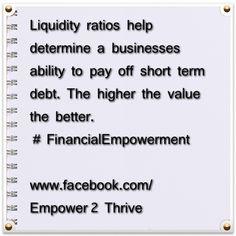 #liquidity