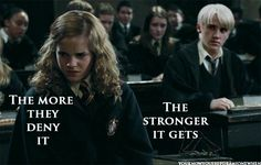 You Know You Ship Dramione When...