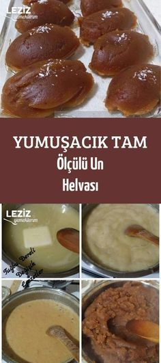 Yumuşacık Tam Ölçülü Un Helvası aufstrich dessert pflanzen recipes rezept salad salat toast Turkish Recipes, Mexican Food Recipes, Sweet Recipes, Dessert Recipes, Iftar, Cheesecake Brownie, Pizzelle Recipe, Delicious Desserts, Yummy Food